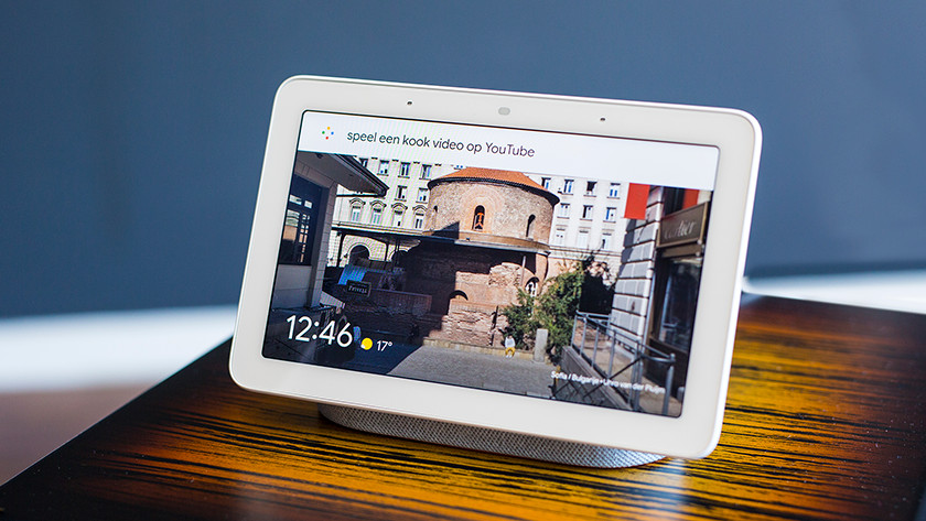 Google Nest Hub video's