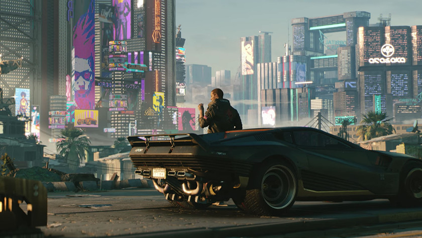 Screenshot van Cyberpunk 2077