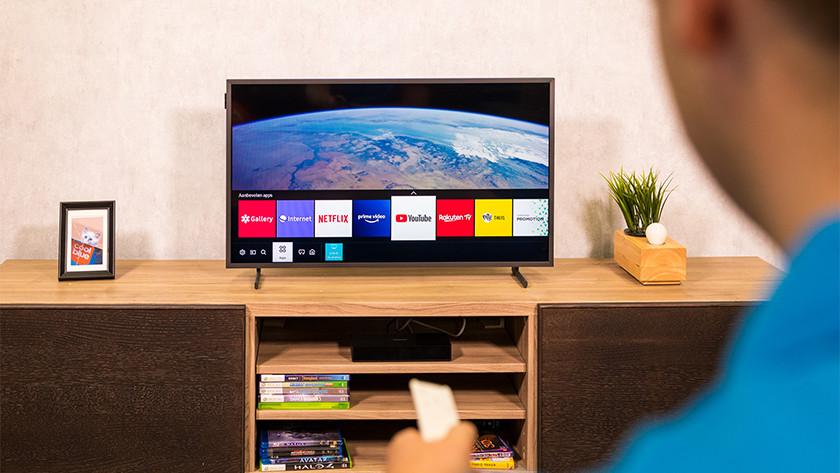 Smart menu van de Samsung The Frame 32LS03T
