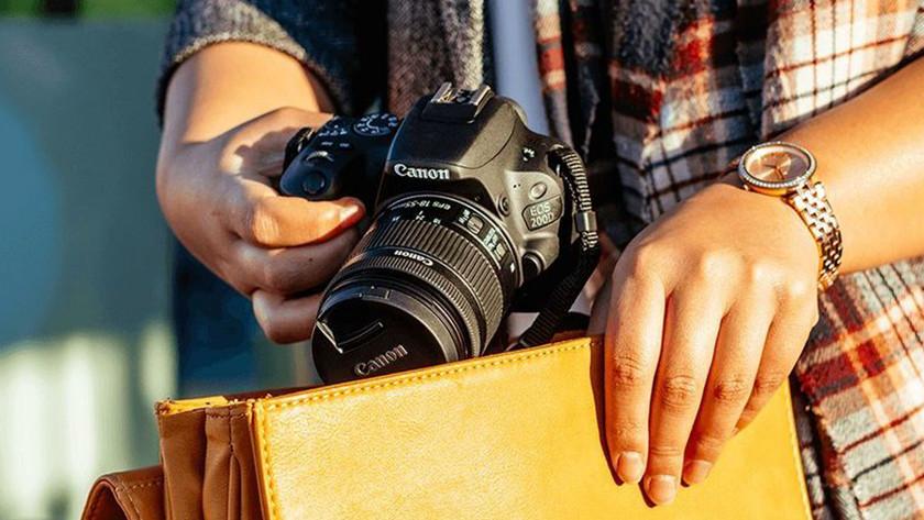 Fysieke kenmerken Canon EOS 200D