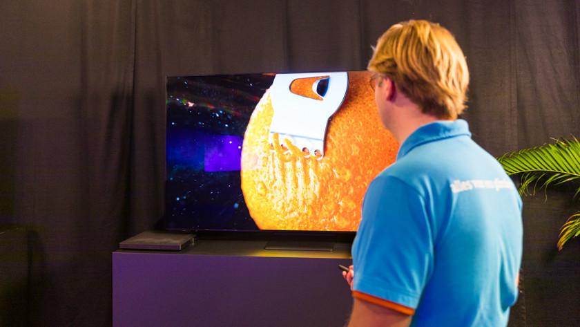 Helderheid en kleuren van de QN95A Neo QLED tv
