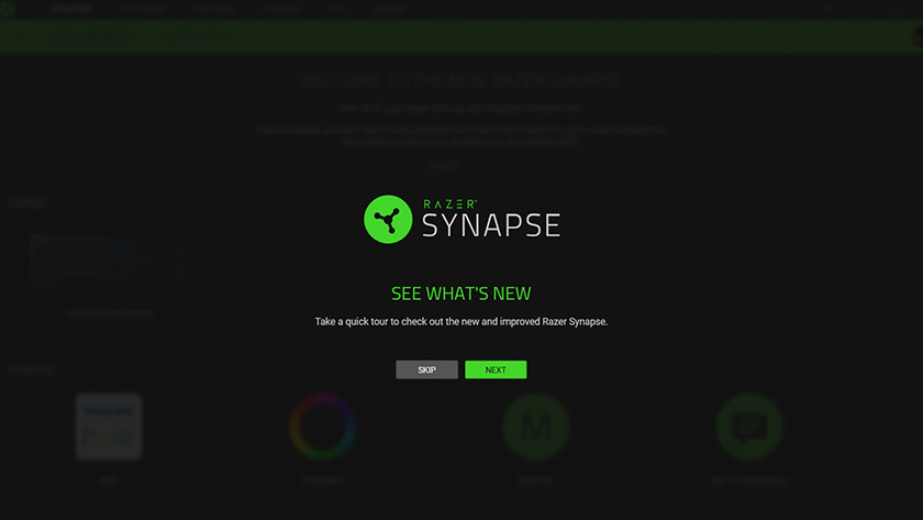 Get to know Synapse thanks to the tour