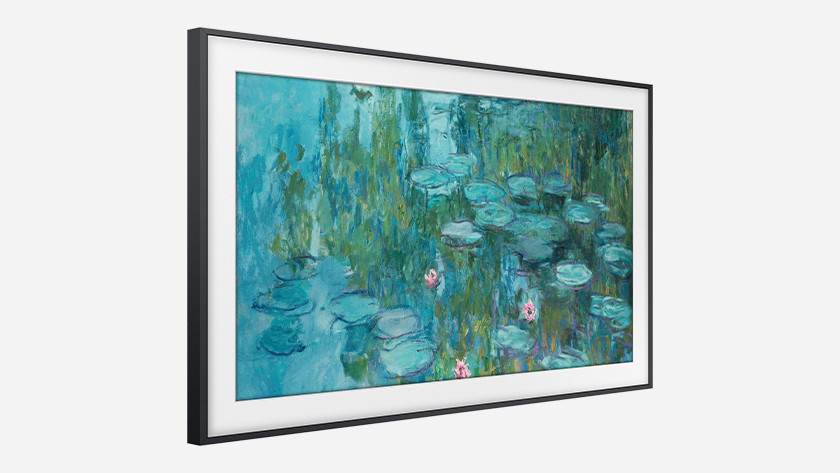 Ontwerp van de Samsung The Frame als schilderij