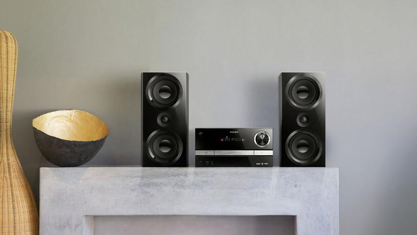 Stereo sets met cd speler