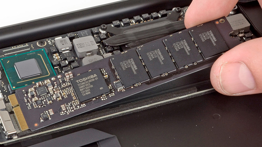 Replace MacBook HDD SSD