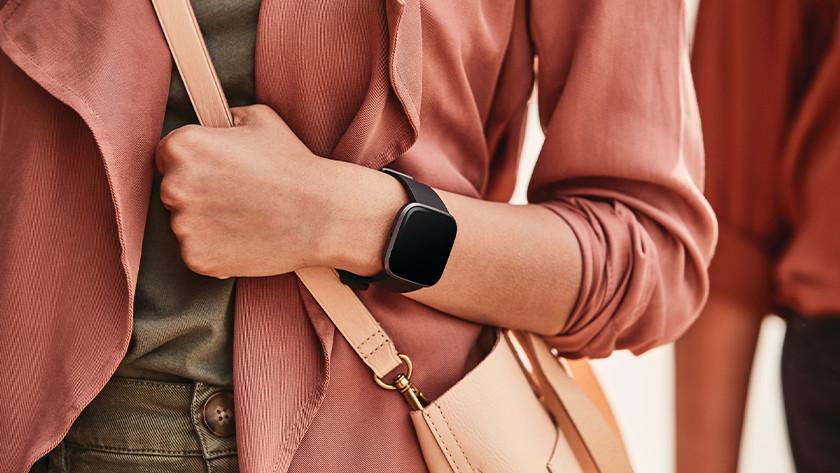 Fitbit Versa 2 gps via smartphone