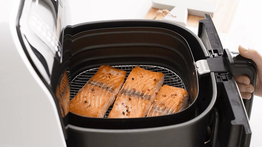 Salmon in airfryer
