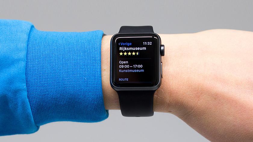 GPS on the Apple Watch 3