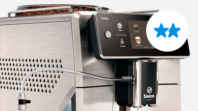 Mid-range coffee machine