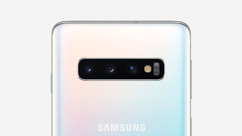Samsung Galaxy S10 Lite camera's