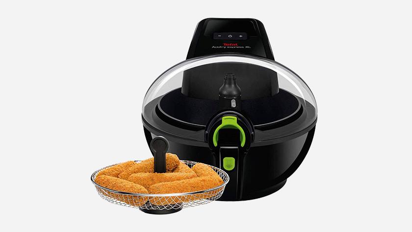 Tefal Express XXL with fried snacks