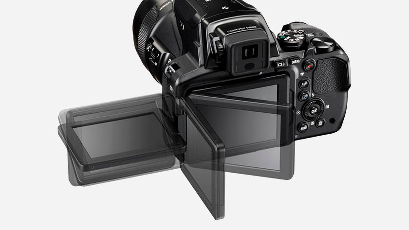 Kantelbaar scherm Nikon Coolpix P900