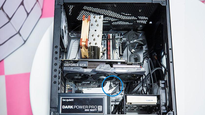 M.2 SSD aansluiting