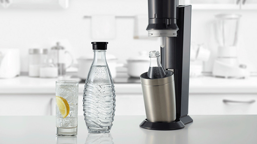SodaStream Crystal with carafe