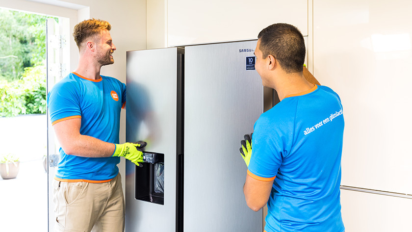 Plaatsing Amerikaanse koelkast