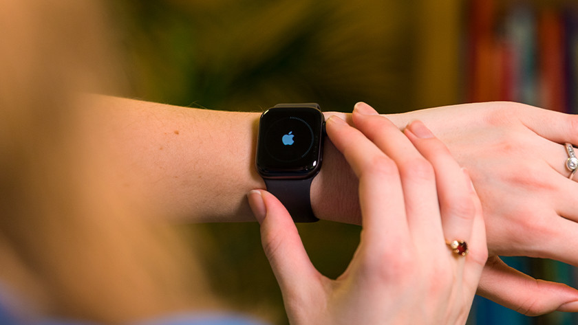 Apple Watch opnieuw opstarten