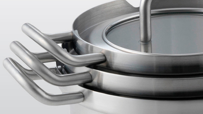 Stacked cookware set
