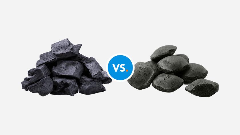 Charcoal or briquettes