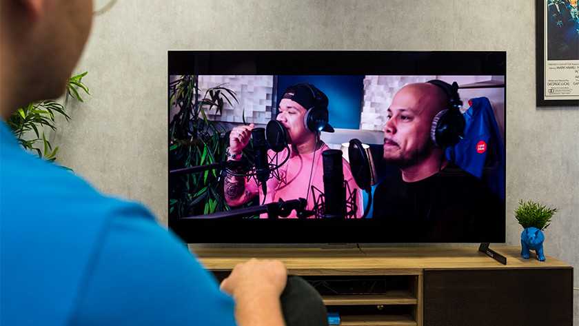 Het geluid van de LG GX OLED tv