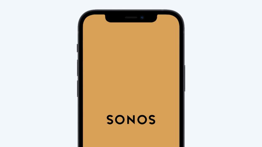 Open de Sonos controller app
