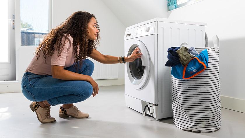 set up washer dryer combination