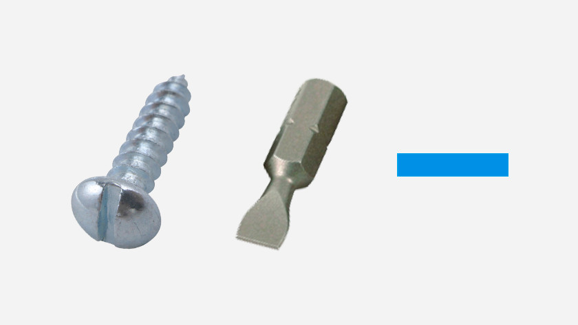 Slotted (flat-head) screws
