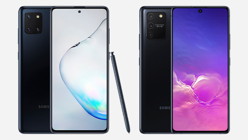 Difference note 10 lite s10 lite