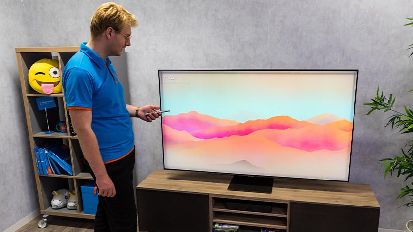 Ambient Mode op de Samsung QLED Q95T tv