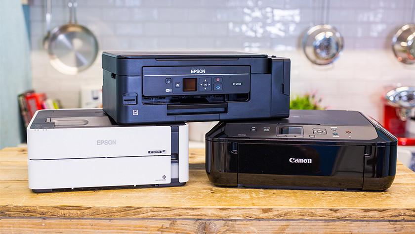 Epson en Canon printers
