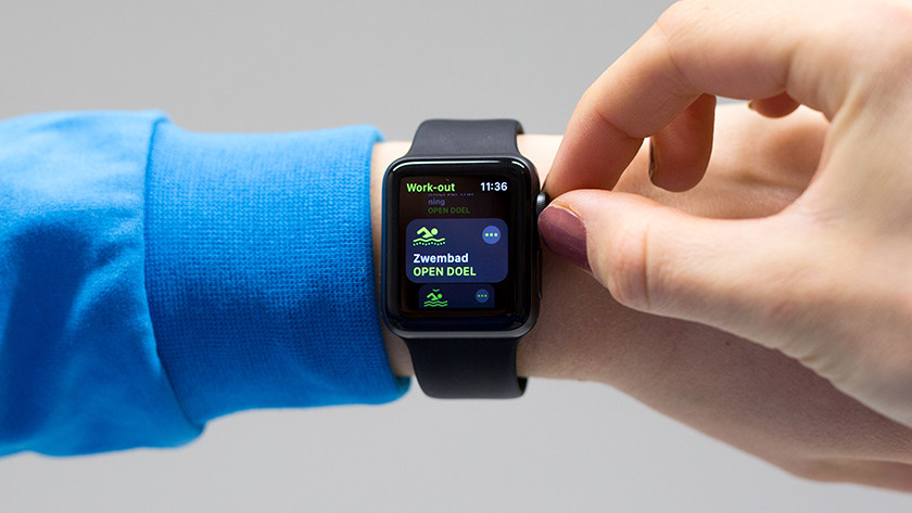 Swimming with the Apple Watch 3