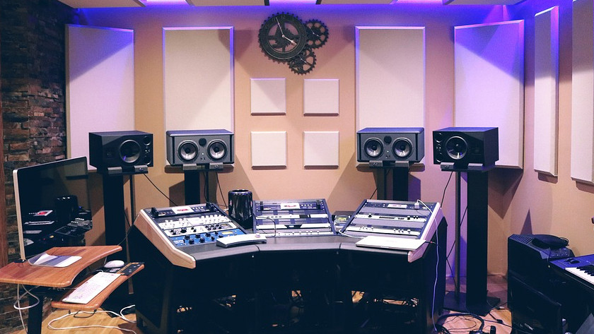 Studio monitor placement and lineup