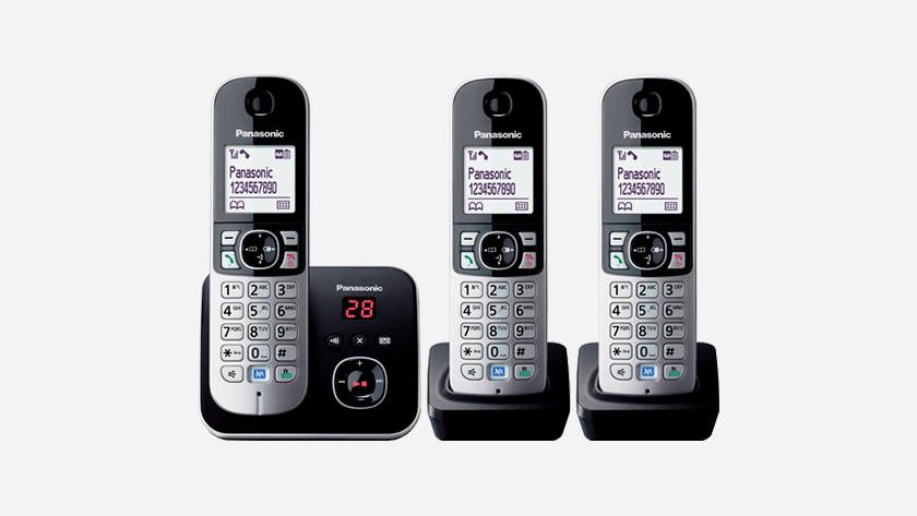 Panasonic vaste telefoon