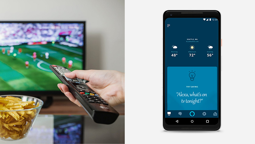 Alexa en je smart tv