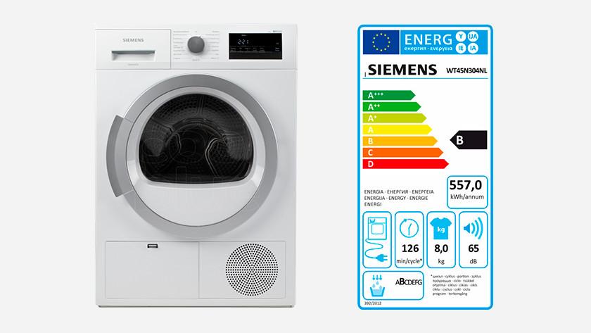 Siemens warmtepompdroger