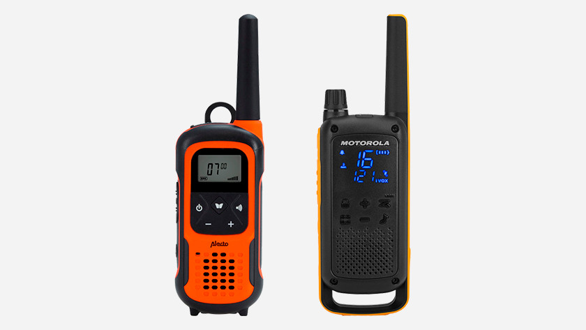 Alecto Motorola two-way radio