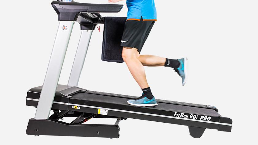 Muscles train treadmill