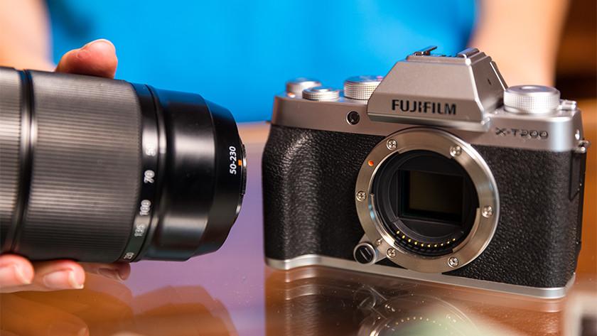Lensvatting Fujifilm systeemcamera's