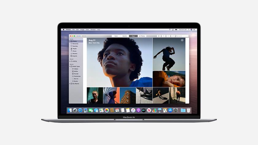 Apple MacBook Air (2019) opslag