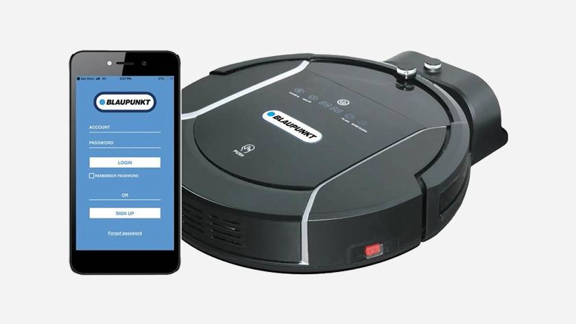 App downloaden robotstofzuiger