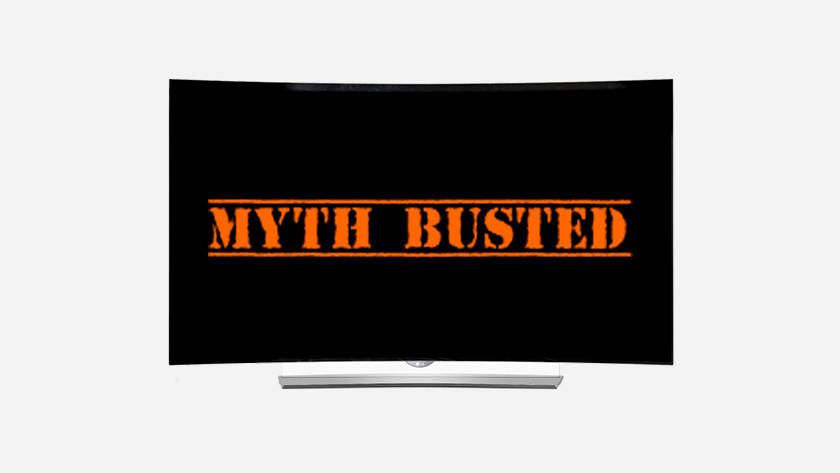 OLED myths