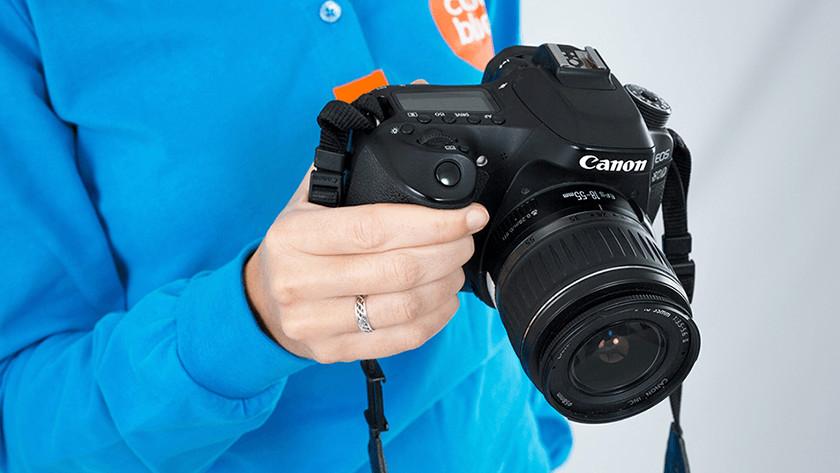 Specialisten reviews van Canon spiegelreflexcamera's