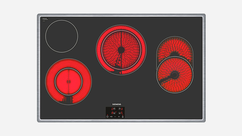 Ceramic cooktop