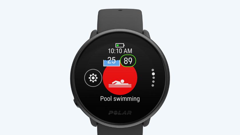 Polar Ignite smartwatch zwem functie