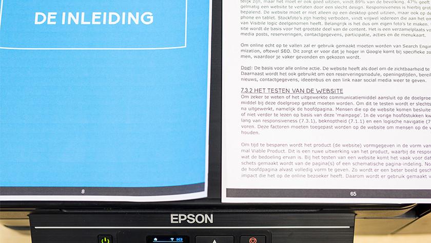 Afdruk kwaliteit epson ecotank et 2650