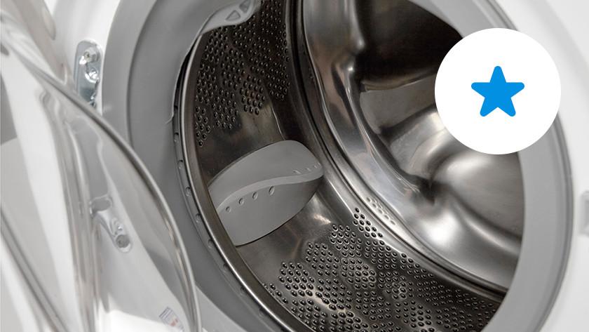 Wasmachine met koolborstelmotor