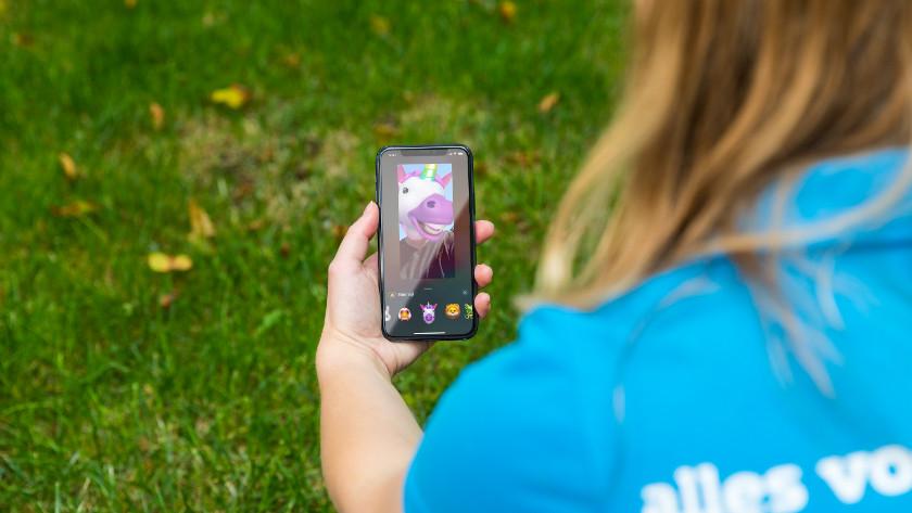 FaceTimen op iPhone