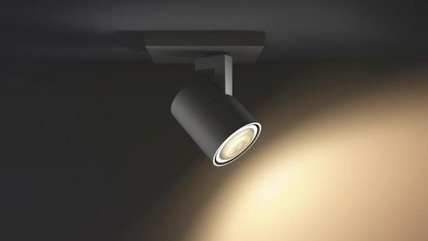 lichtsterkte voor de lamp bepalen