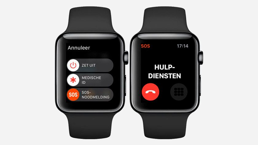 SOS noodsituatie Apple Watch