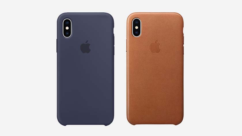 Apple silicon or leather Back Covers