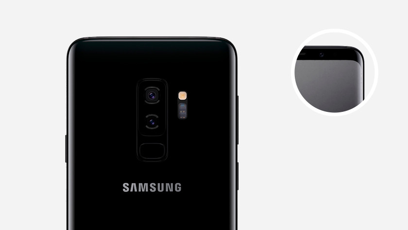 Samsung Galaxy S9 Plus front camera and selfie camera